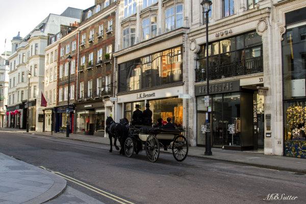Approaching Bond Street