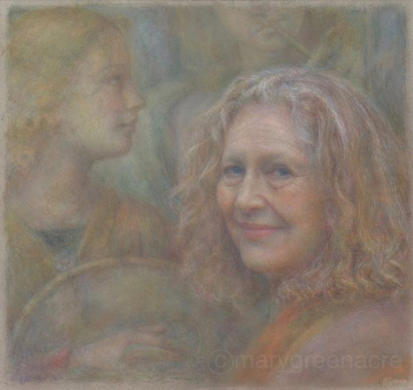 Dame Emma Kirkby - commissioned portrait