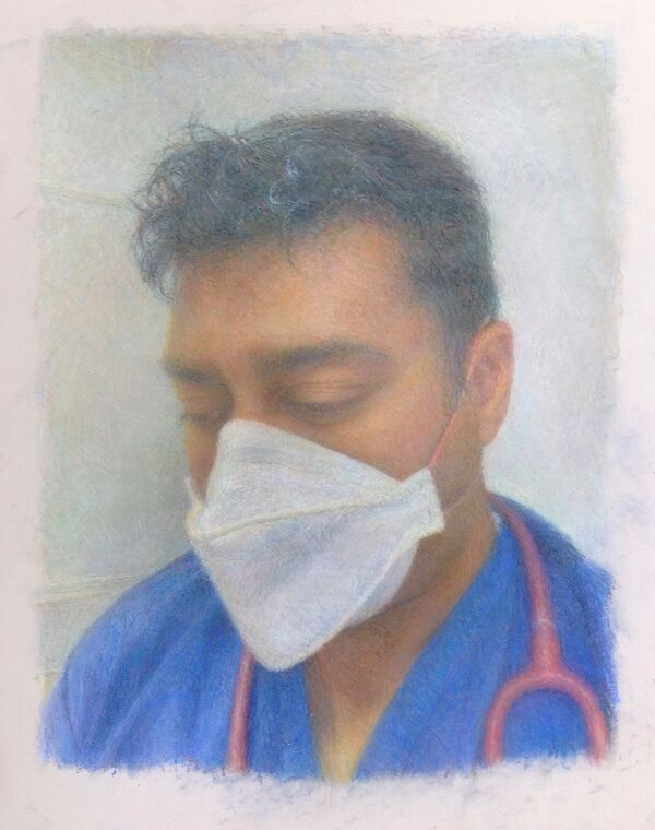 Dr. Ravin Mistry 'Portraits for NHS Heroes'