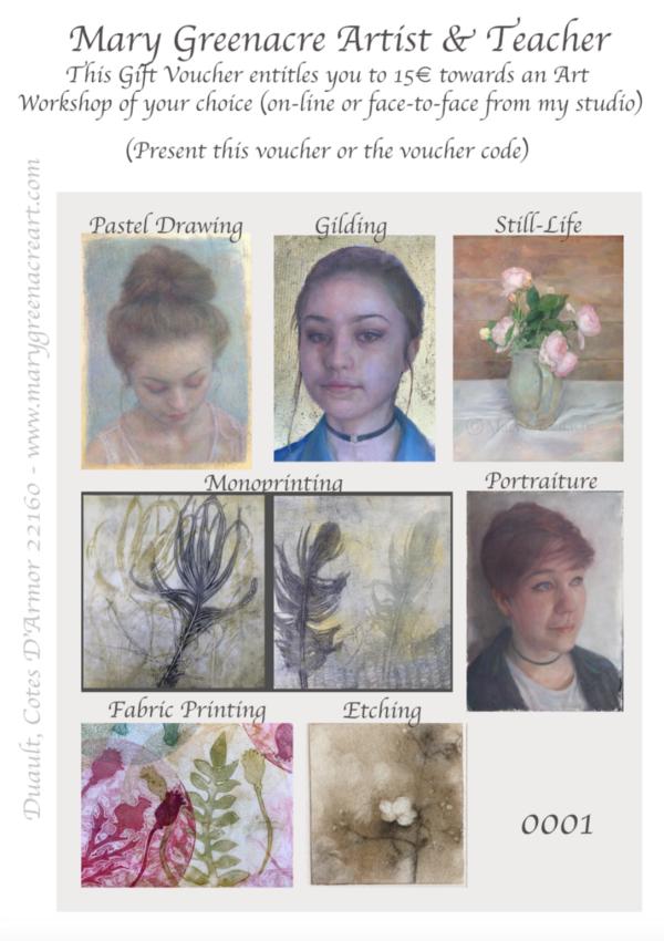 Voucher for Art Workshops