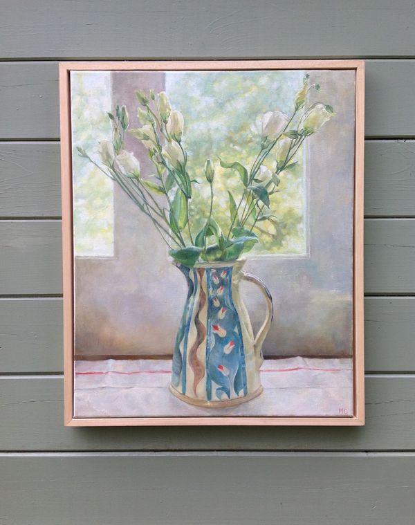The Patterned Vase / Le vase à motifs