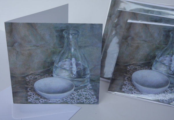 'Glass and Lace' Greetings Card
