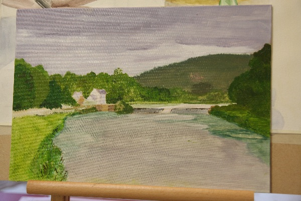 Plein Air Painting on the Banks of the River Aulne