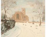 Blythburgh Church in the Snow