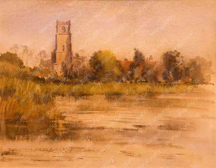 Blythburgh from the River