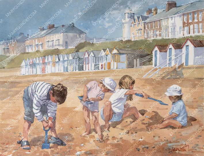Morning on the Beach, Southwold