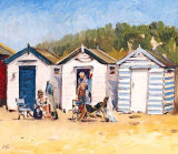 Picnic by the Beach Huts