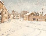 Snowy Morning, Blythburgh