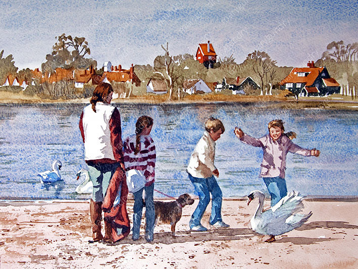 Spring, Thorpeness Meare