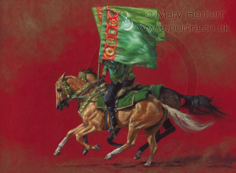 Turkmen Standard Bearers