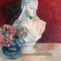 Still Life with Bust