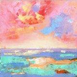 Small Painting. Coastal Abstract