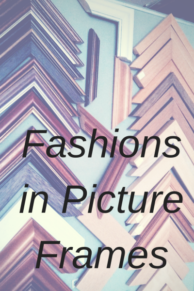fashion in picture frames