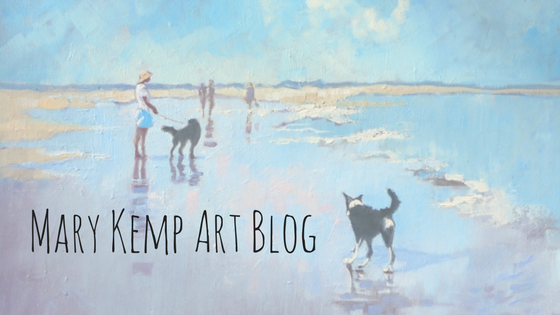 art blog header