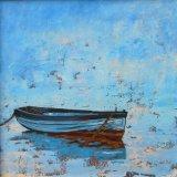 Small Row Boat Cast Adrift.