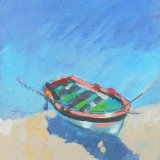Small Boat Painting