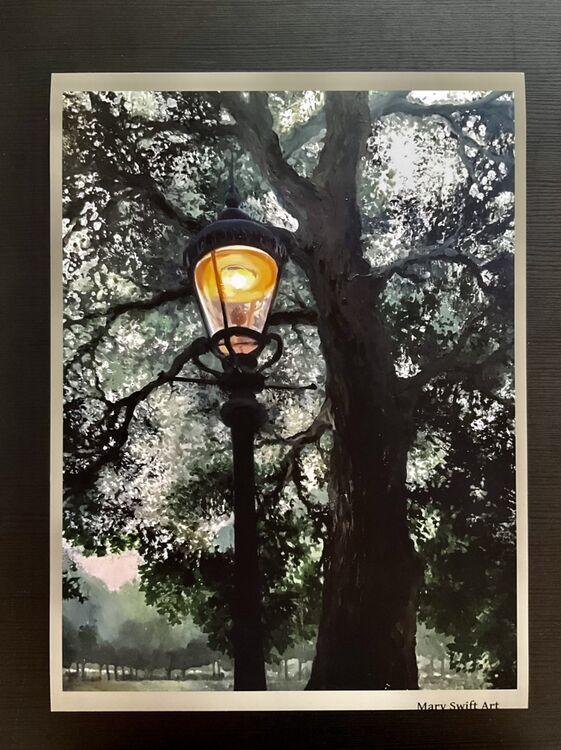 The Lantern print 40x30 £20