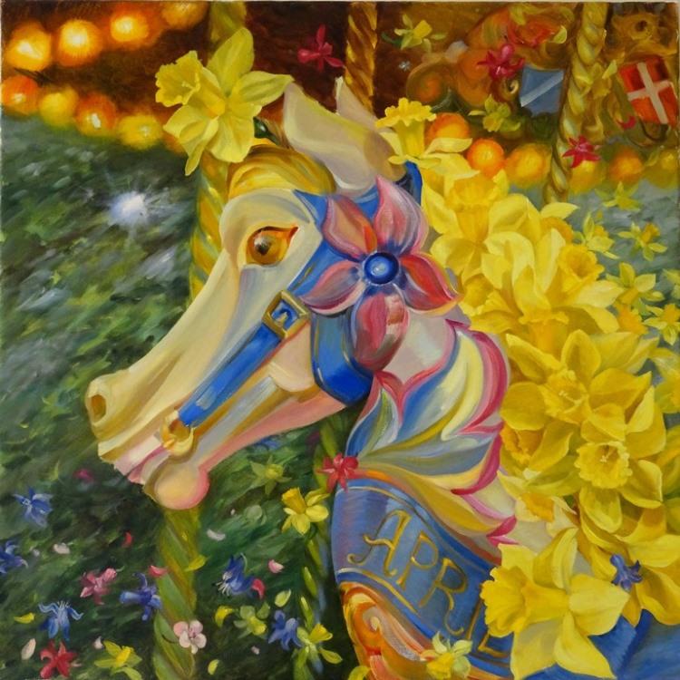 White Horse - April