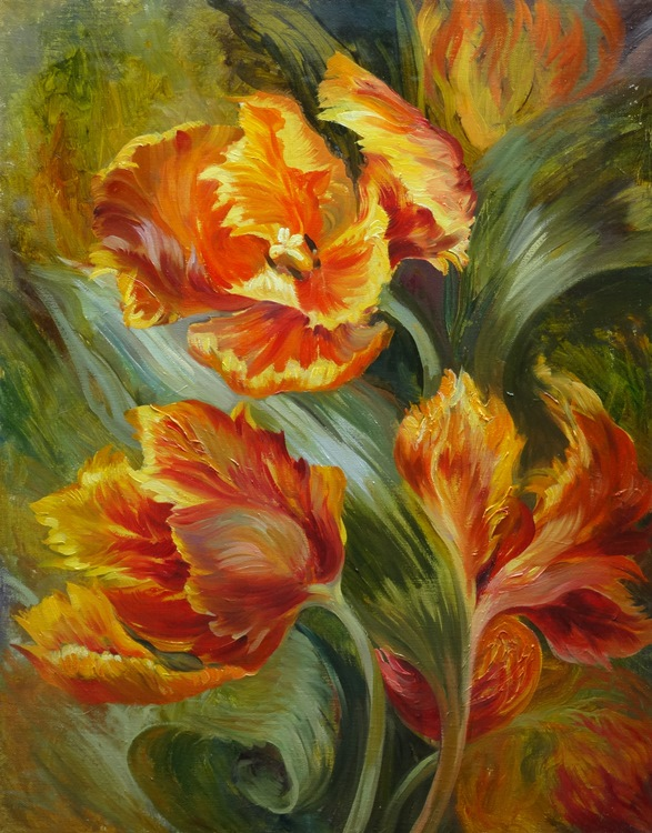 Tulips of Fire