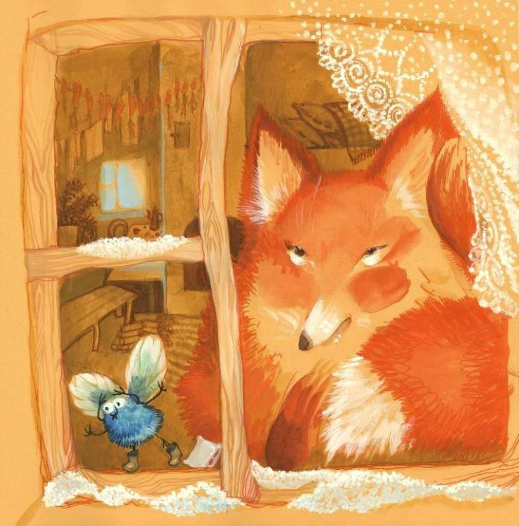 Fox and Fly