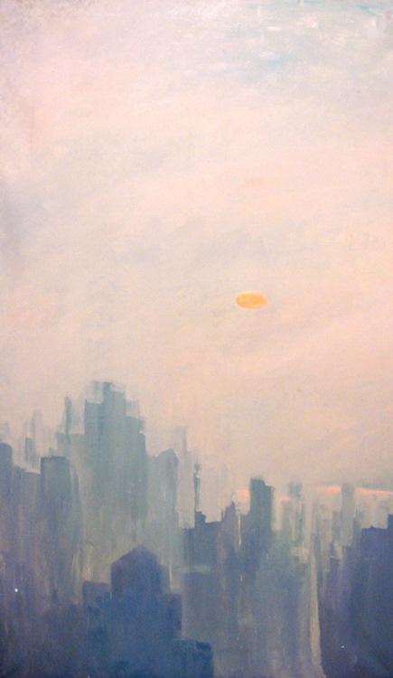 NY morning mist