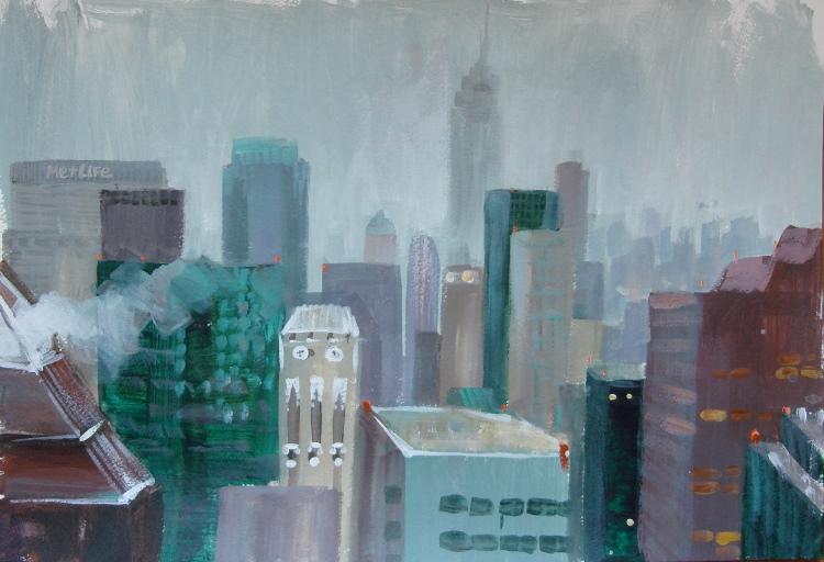NY rain