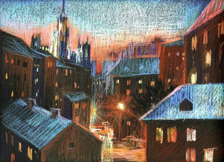 Night sketch n10