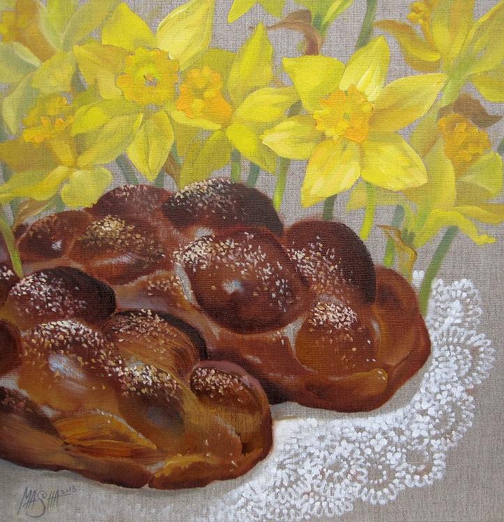 Spring Challah