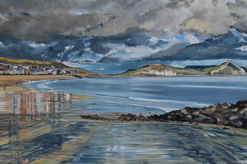 Sandy Beach Lyme Regis