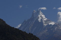 Machhapuchhre, Fishtail, Annapurna Mountains, Nepal
