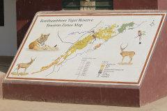Ranthambhore Tiger Reserve Map