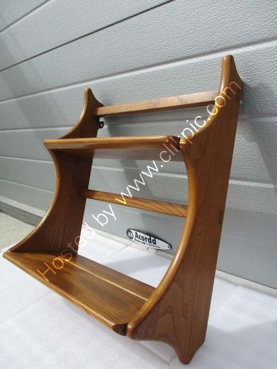 Now sold. Ercol Plate rack. 53.3 cm x 43.2 cm x 20.3 cm. Please click on image for more details.