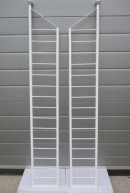 Ladderax slim ladders restored and ready to be made into a bookcase on request.Please click on image for more information.