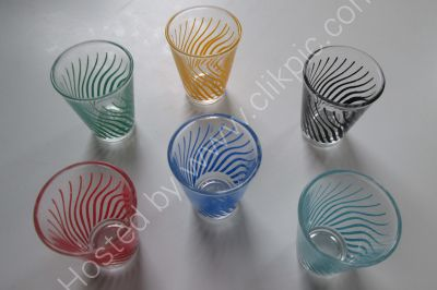 £16 including postage.Vintage French Shot Glasses.