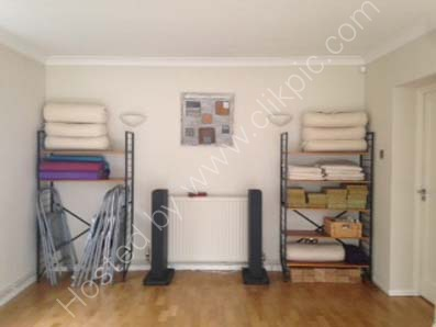 Stylish Yoga room Highgate