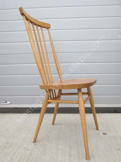 Now sold. Ercol 608 chair restored .Please click on image for more information or to buy.