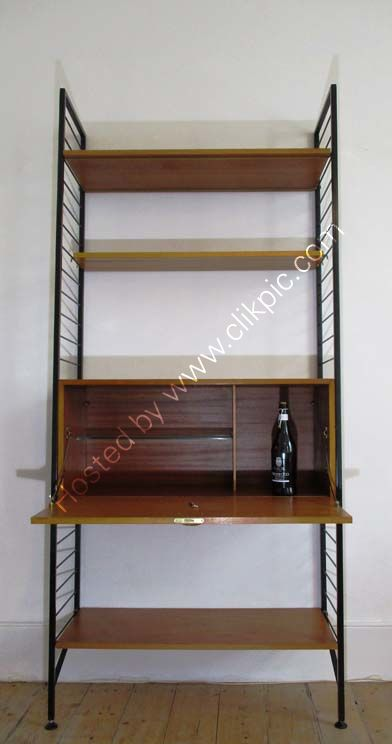 £350. Later version of the cocktail cabinet with shelves. Please click on image for more information.