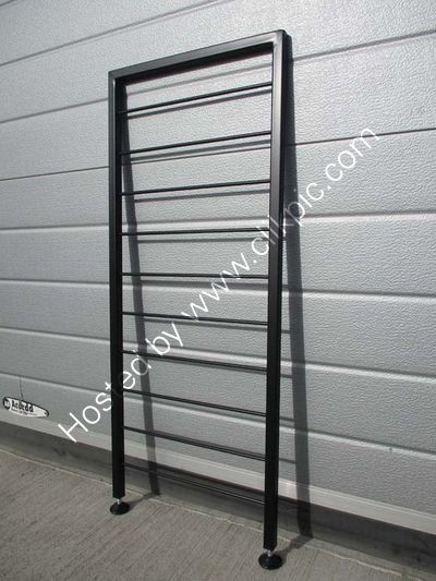 £40 plus any postage. Black freestanding ladder 86.3 cm x 35.5 cm. Please click on image for more information.