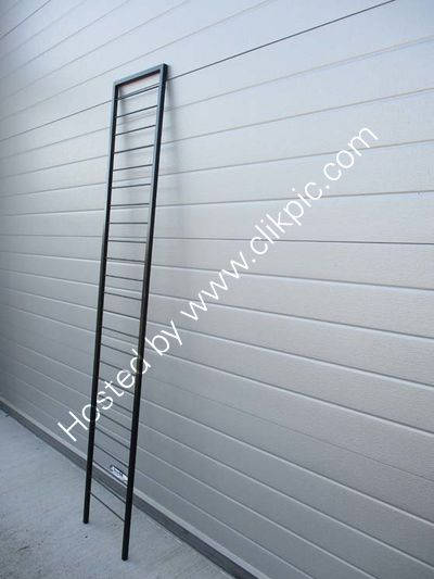 Now sold..Tallest room divider ladder in black.Please click on image for more information.