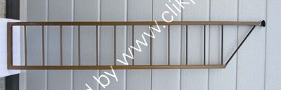 Now sold. Wall leaning ladder 109.2 cm x 20.3 cm. Please click on image for more information