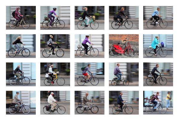 Fototips B 16 - 01 D - sykkelcollage