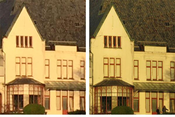 Fototips A - 21 - 03 C - Sammenligning zoom 6 og kompakt