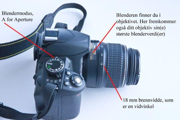 Fototips A - 06 - blender og kamera