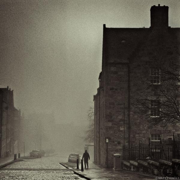 Man, Broad Street, Stirling