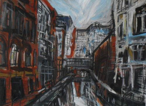 Canal off Princess Street, Manchester