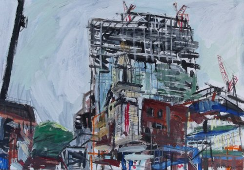 Cranes Study #2