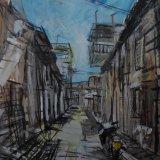 Motorbike, Havana, Cuba