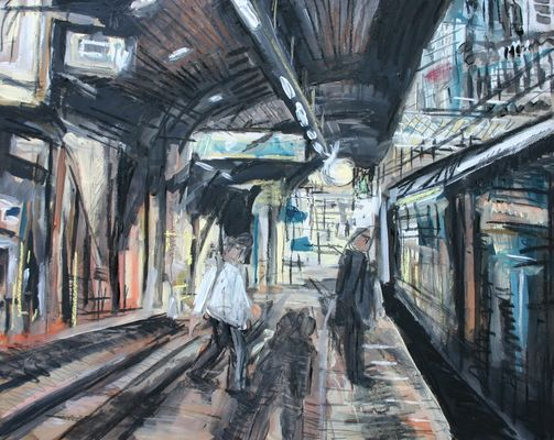Shadows, Oxford Road Station