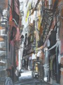 Street Off La Rambla, Barcelona