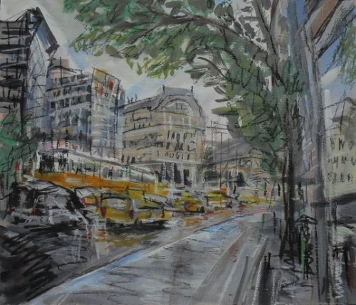 Taxis and Trams, Budapest